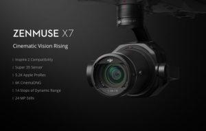 DJI Zenmuse X7 - skvělá 6K kamera oficiálně představena