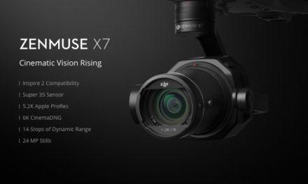 DJI Zenmuse X7 – skvělá 6K kamera oficiálně představena