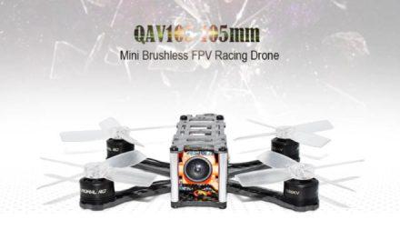 QAV105 Mini – malá, ale slušně vybavená závodní koptéra (slevový kupón v článku)