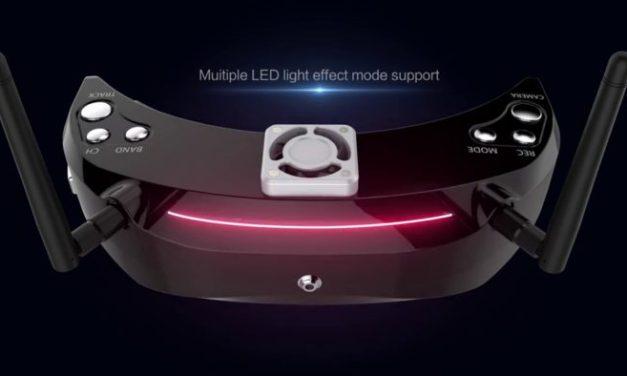 Skyzone Sky03 3D – nové FPV brýle odhaleny