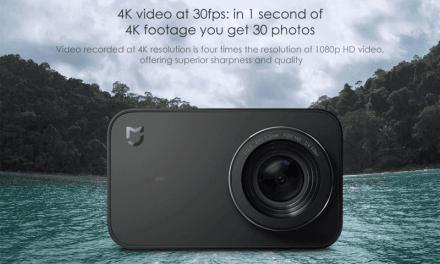 Kamera Xiaomi Mijia Mini 4K z EU skladu za krásných 99$