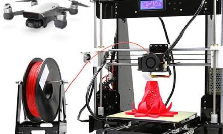 Mix slev z Gearbestu #1 – drony, 3D tiskárna, power banka a další
