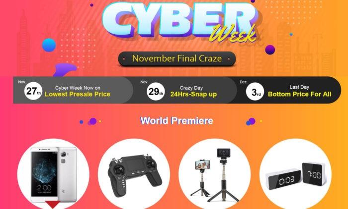 Banggood a jeho Cyber Week je tady!