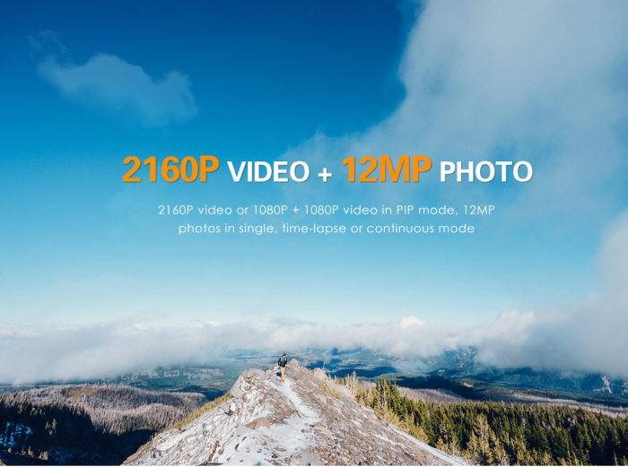 GitUp G3 Duo Pro - novinka s podporou obrazu v obraze