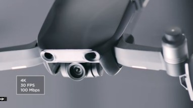DJI Mavic Air kamera a senzory - DJI drony
