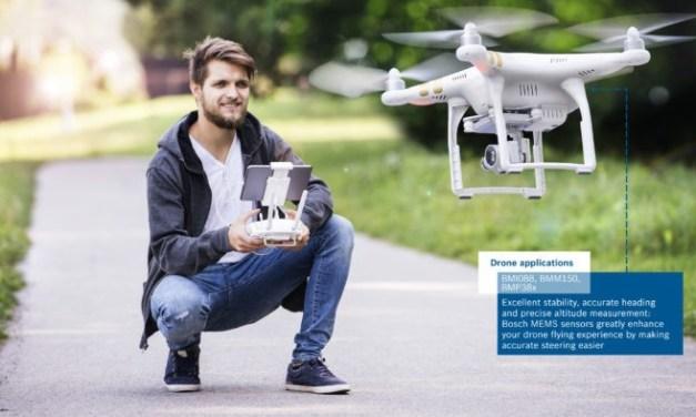 Bosch představil na CES2018 vysoce výkonnou IMU BMI088 pro využití v dronech a robotice