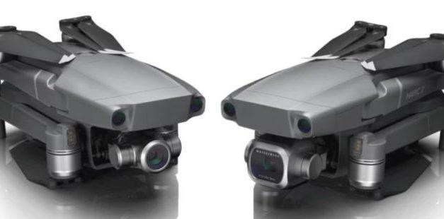 """Drony DJI Mavic 2 Pro s 1"""" čipem a DJI Mavic 2 Zoom oficiálně představeny"""