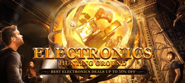 Obrovský výprodej elektroniky na Gearu
