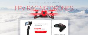 Akční nabídka závodních koptér a příslušenství na Gearu
