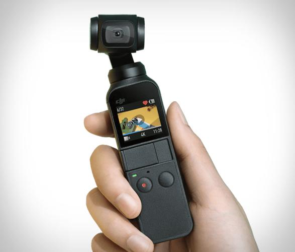 DJI Osmo Pocket – malá kamera s 3-osým gimbalem