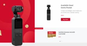 zimní výprodej na DJI Store - DJI Osmo Pocket