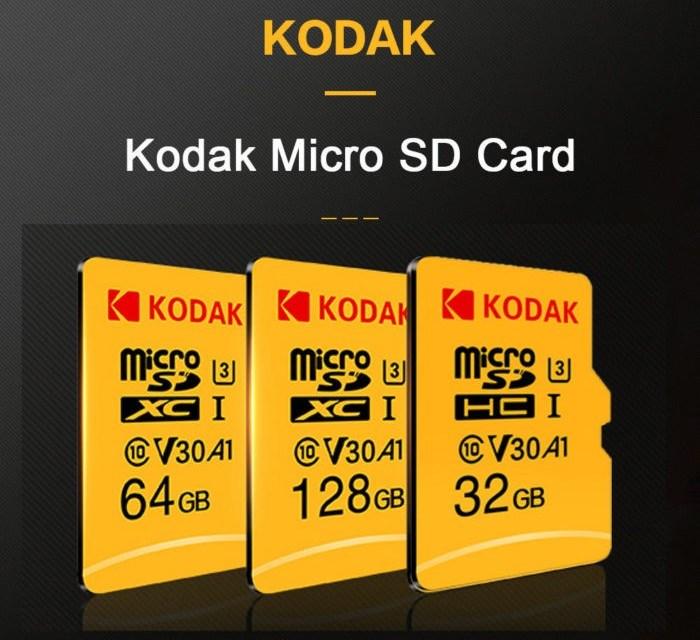 128 GB microSD karta Kodak jen za 19,29$