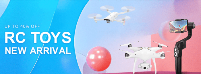 Výprodej dronů na Gearbestu