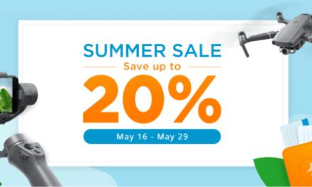 20% sleva na DJI Store