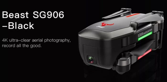 ZLRC Beast SG906 – extrémně levný 4K dron
