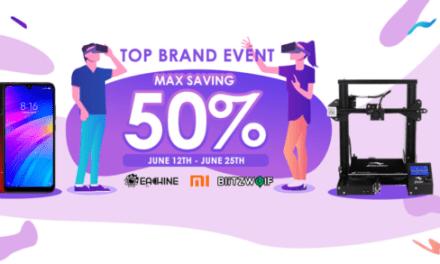 Slevy až 50 % na značky Xiaomi, Eachine a další
