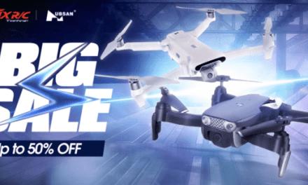 Velký výprodej dronů spuštěn