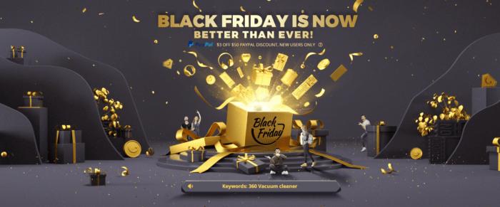 Využijte Black Friday na Gearbestu k nákupu dárků
