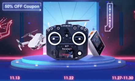 Výprodej dronů na Banggoodu