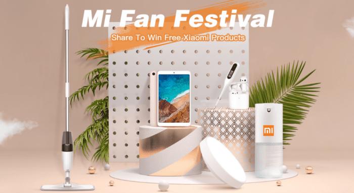 Xiaomi Mi Fan festival na Tomtop