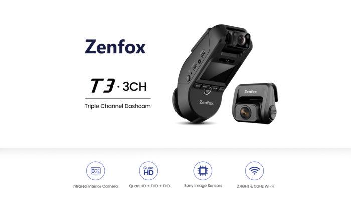 Zenfox T3 - autokamera, které nic neunikne