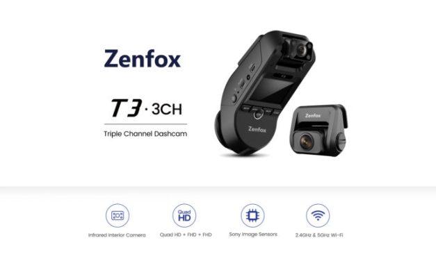 Zenfox T3 – autokamera, které nic neunikne