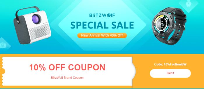 Brand sale Blitzwolf – spousta lákavých slev