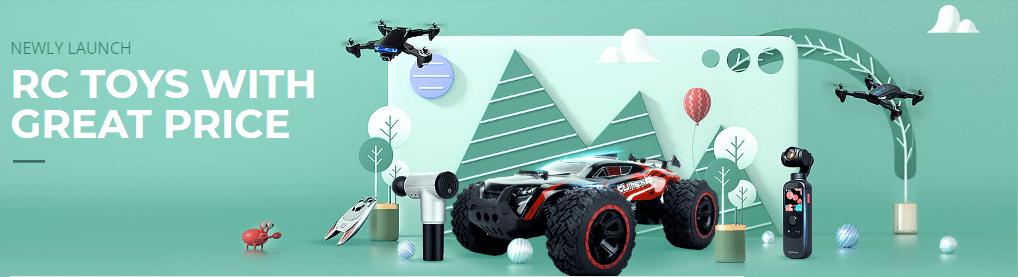 Velký výprodej dronů a dalších RC modelů