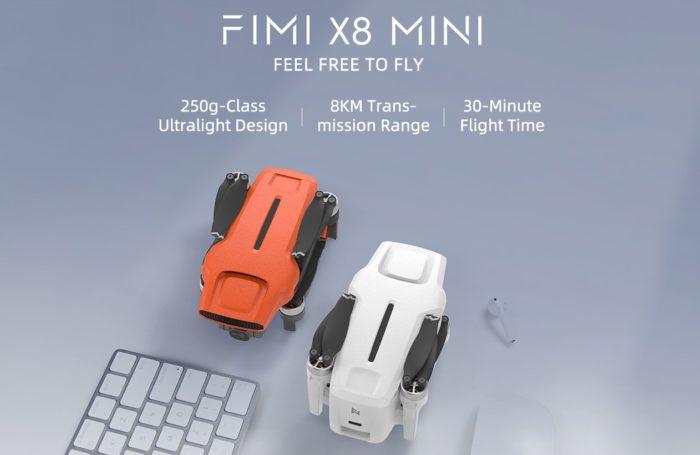 Novinka: Fimi X8 Mini s váhou pod 250 gramů a 4K kamerou na palubě (+ slevový kód)