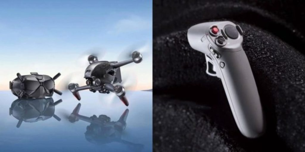 dron DJI FPV - DJI Motion Controller
