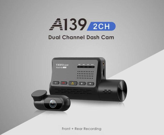 GITUP™ / VIOFO A139 – palubní a parkovací kamera za skvělou cenu