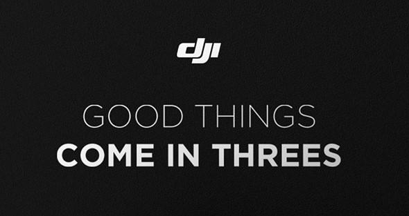 DJI chystá hned 3 novinky. Co to bude?