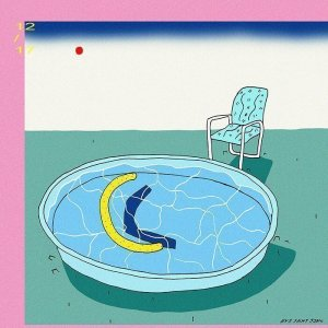 Contemporary pool illustration by Eve St-jean