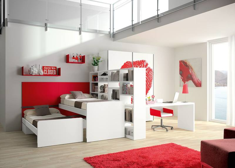 10 SpaceSaving Bedroom Furniture Ideas by Tumidei Spa