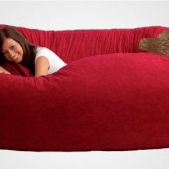 Xl Bean Bag Chair Wheelchair Names The Fuf Memory Foam Oversized Beanbag