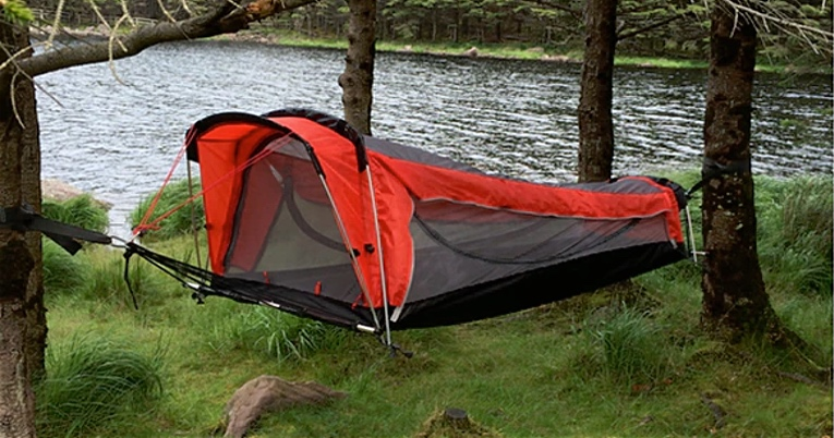 Get a Hammock Tent Air Mattress and Sleeping Bag All in One