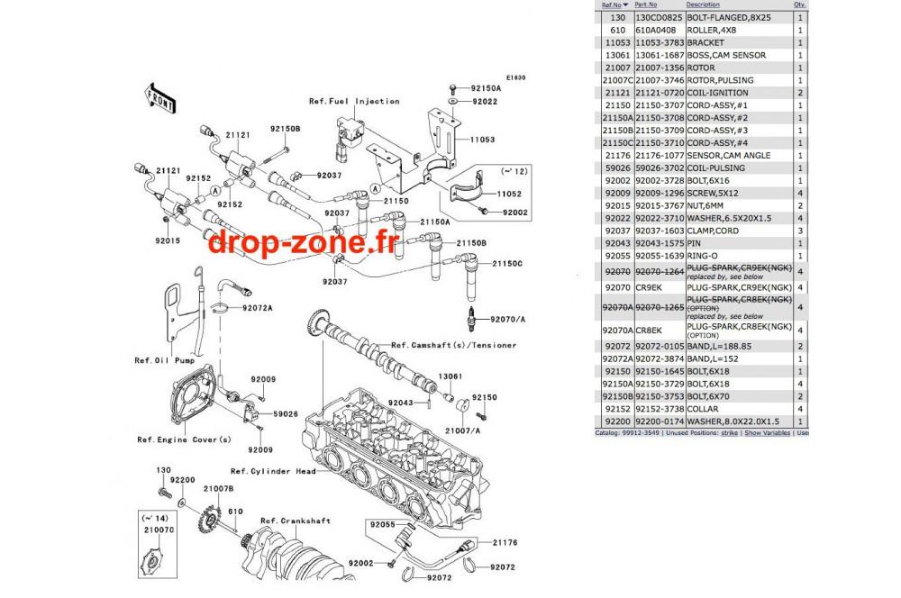 - Système d'allumage STX-15F 13-14 › DROP ZONE UNLIMITED
