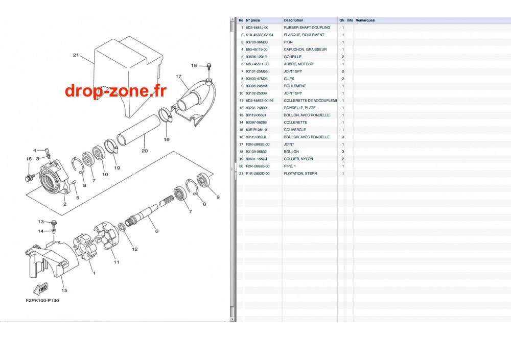 Transmission VX V1 15/ V1 Sport 15/ Cruiser 15/ Deluxe 15