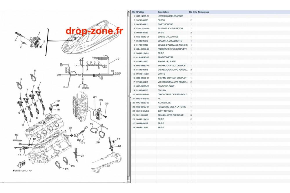 Electricité 2 VX V1 15/ V1 Sport 15/ VX Sport 12-14 › DROP