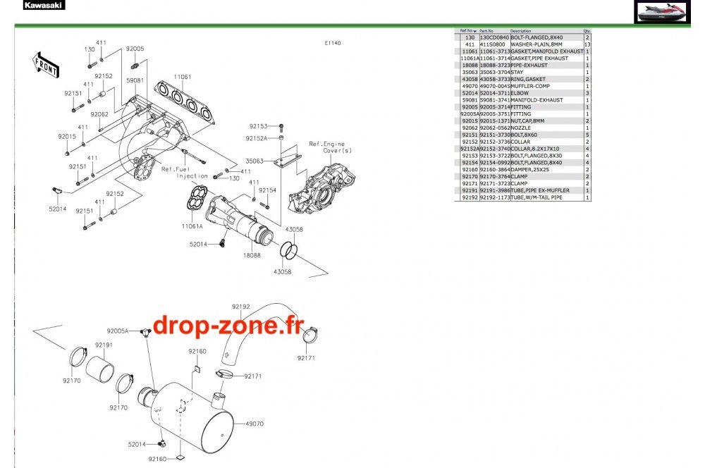 - Echappement STX 160 20 › DROP ZONE UNLIMITED