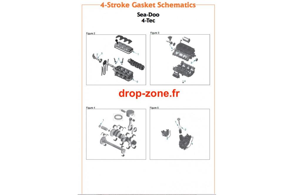 Joints pour SEA-DOO 4 TEC › DROP ZONE UNLIMITED