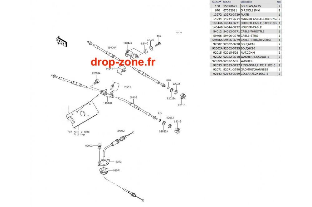 Câbles STX-15F 13-17 › DROP ZONE UNLIMITED