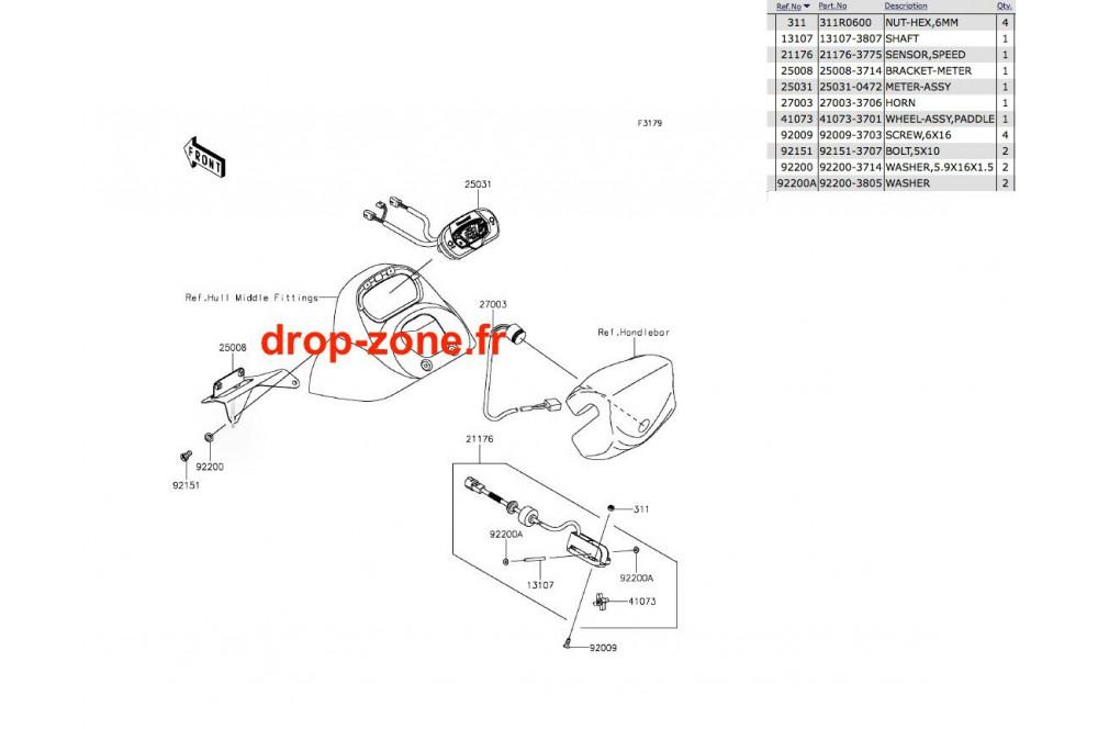 Compteur STX-15F 15-16 › DROP ZONE UNLIMITED