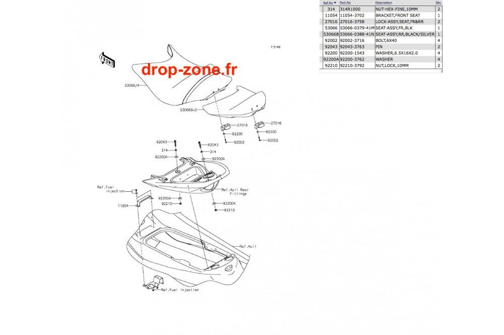 Selle Ultra LX 14-19 › DROP ZONE UNLIMITED