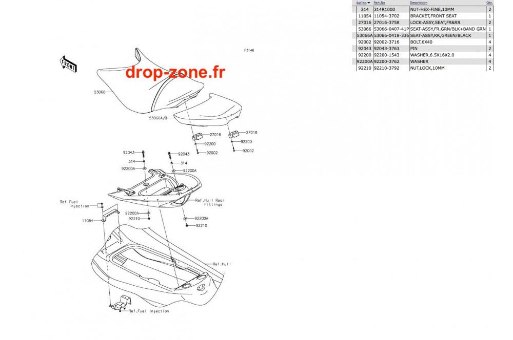 Selle Ultra 310-R 14-19 › DROP ZONE UNLIMITED