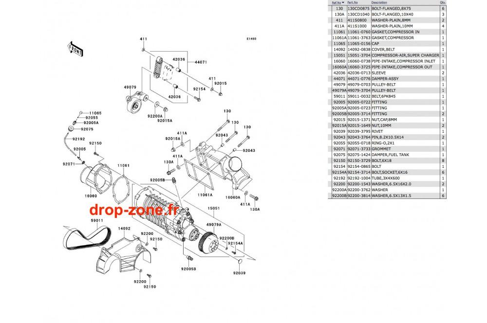 Compresseur Ultra 300-X/ Ultra 300 LX 11-13 › DROP ZONE