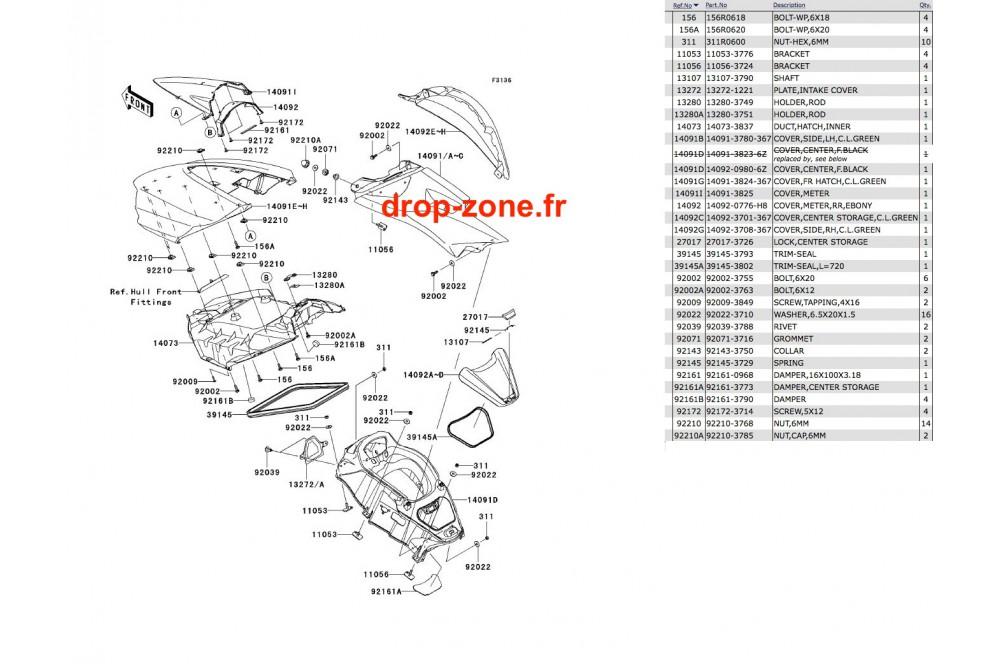 Coque milieu Ultra 300-X 12 › DROP ZONE UNLIMITED