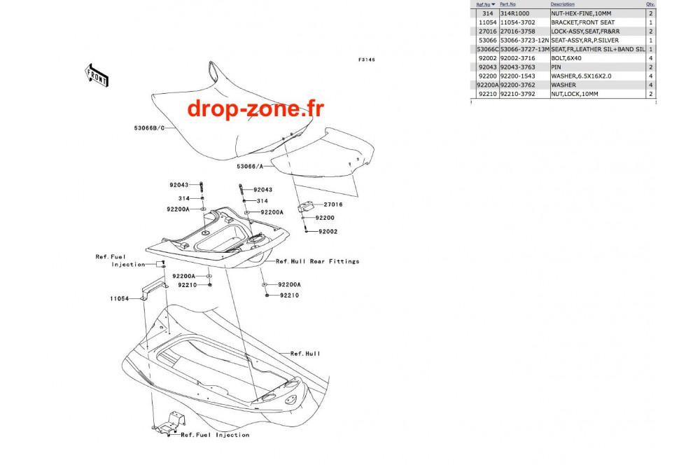 Selle Ultra 260-X 10 › DROP ZONE UNLIMITED
