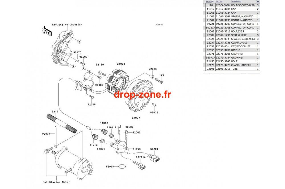 Générateur SX-R 800 04-11/ X2-R 800 07 › DROP ZONE UNLIMITED