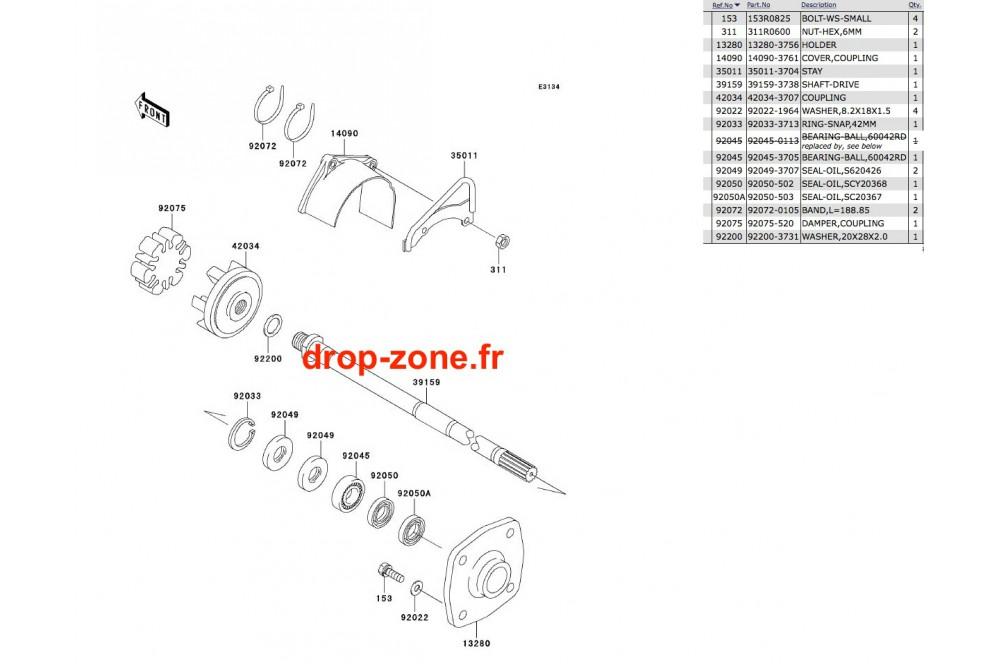 Transmission SX-R 800 03-11/ X2-R 07 › DROP ZONE UNLIMITED